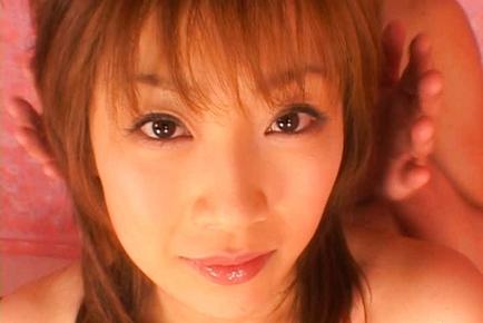 Misaki Ueno Asian cutie is a racequeen