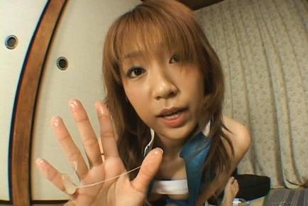 Misaki Ueno Asian beauty is a racequeen