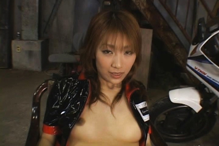Misaki Ueno Sweet Japanese doll is a race queen
