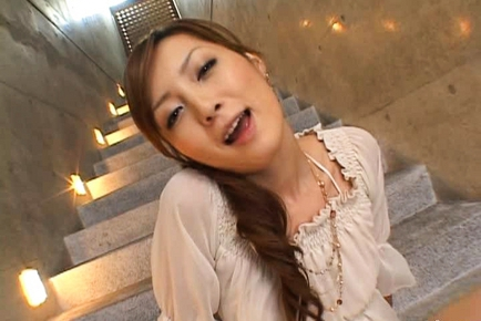 Kaede Fuyutsuki Hot Asian racequeen is sweet and sexy