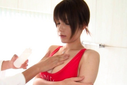 Rei Ganaha Hot Japanese race queen is sexy