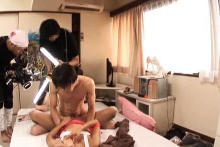Jun Asami Hot race girl shows sexy body