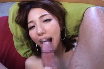 Asian gal with long beautiful legs Arisu Miyuki fucked on pov