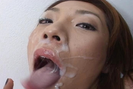 Nasty Asian Racing Queens gets a Sea of Sperm after a Hard Fuck
