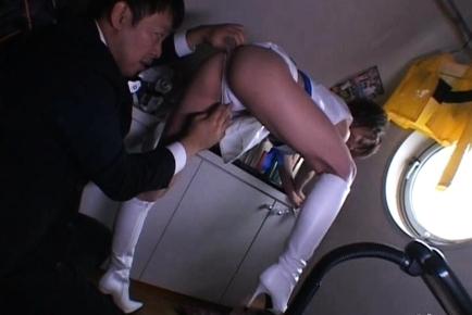 Horny Mako Katase Fucks Her Sugar Daddy on a Yacht in the Ocean