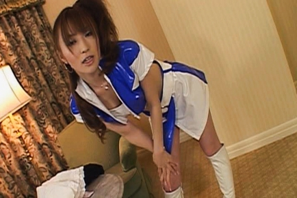 Miyu Nakai Learns how to Dress for a Model Shoot by a Horny Guy