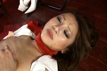 Racing Queen in Red Panties Fingered and Fucked by a Stud